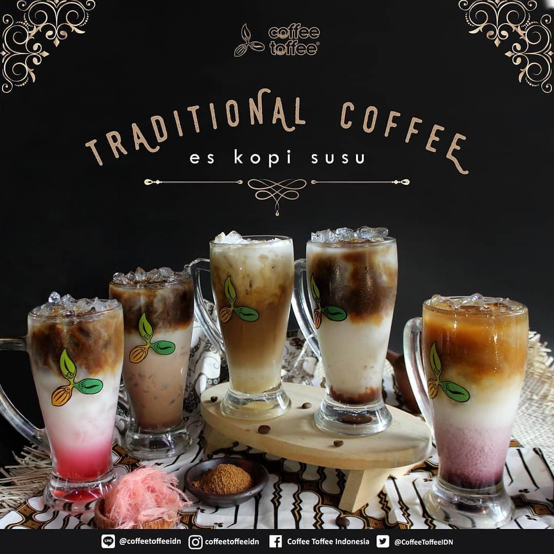Inovasi Coffee Toffee, Jadikan Kopi Tradisional Punya Banyak Rasa