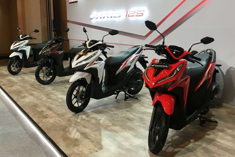 Berkat Vario Series, Ekspor Motor Honda Meningkat 83%