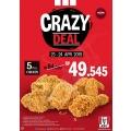 Buruan Serbu! 2 Hari Ini Ada Promo Crazy Deal KFC