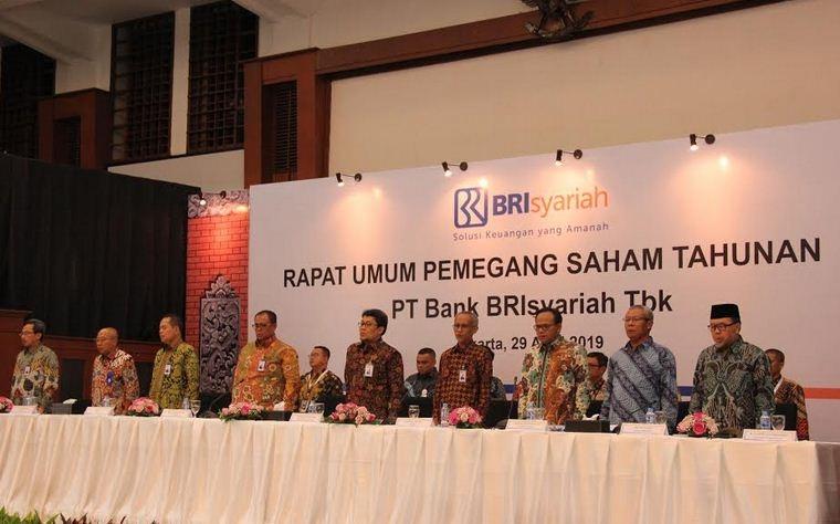 Gelar RUPST, BRIsyariah Ganti Manajemen Baru