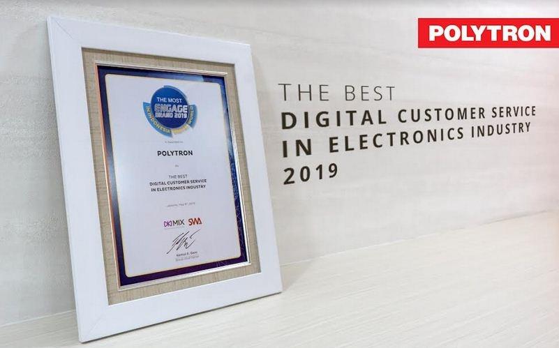 Layanan Digital Jadikan Polytron yang Terbaik Melayani Pelanggan