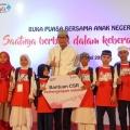 Telkomsel Roadshow Berikan Santunan 5.000 Anak Yatim dan Kaum Dhuafa