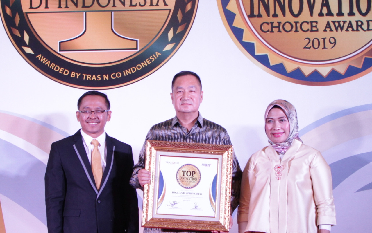 Miliki Laci Tersembunyi, Bigland Springbed Raih Top Innovation Choice Award 2019