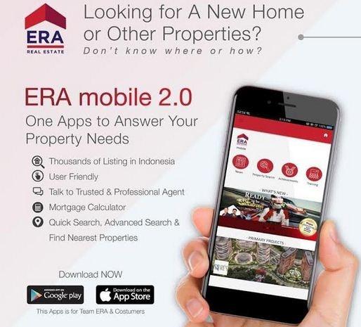 ERA Indonesia Perkenalkan Versi Mobile 2.0