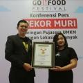 GO-FOOD Festival Sukses Pecahkan Rekor MURI