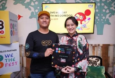IM3 Ooredoo Hadirkan Unlimited Experience di We The Fest 2019