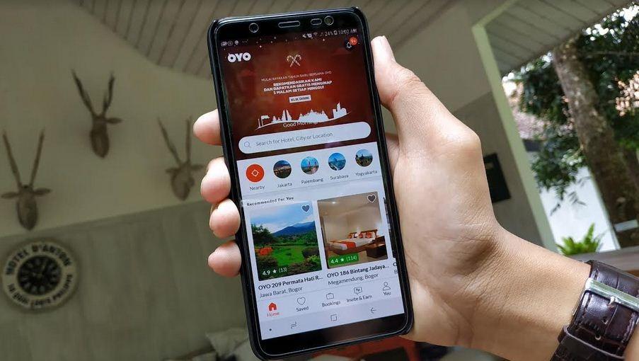 Aplikasi Hotel OYO Tembus 1 Juta Pengguna di Indonesia