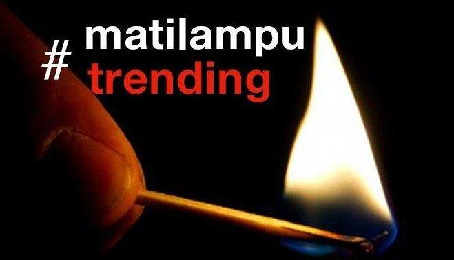 Mati Lampu Massal Jadi Trending Topic Dunia?