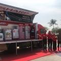 Kejar Omset Rp11 Triliun, Sharp Luncurkan Mobile Display Truck
