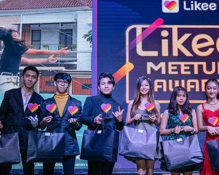 Likee Beri Penghargaan Untuk Influencer dan Content Creator Indonesia