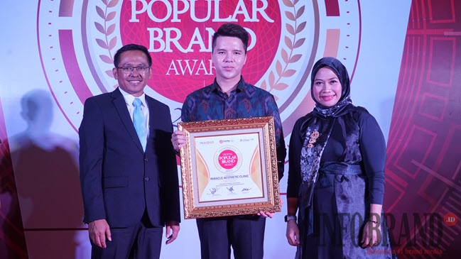 Miracle Aesthetic Clinic Kembali Raih Penghargaan Indonesia Digital Popular Brand Award 2019