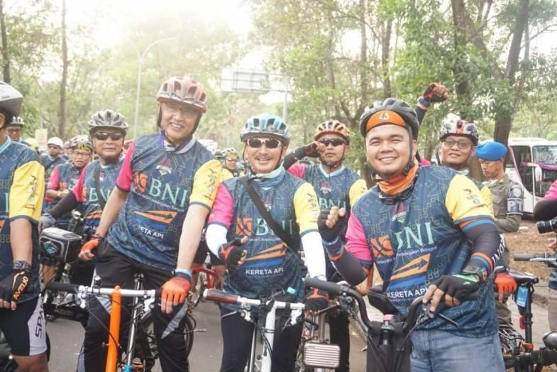 Go Green, BNI Syariah Implementasikan Program Bike to Work