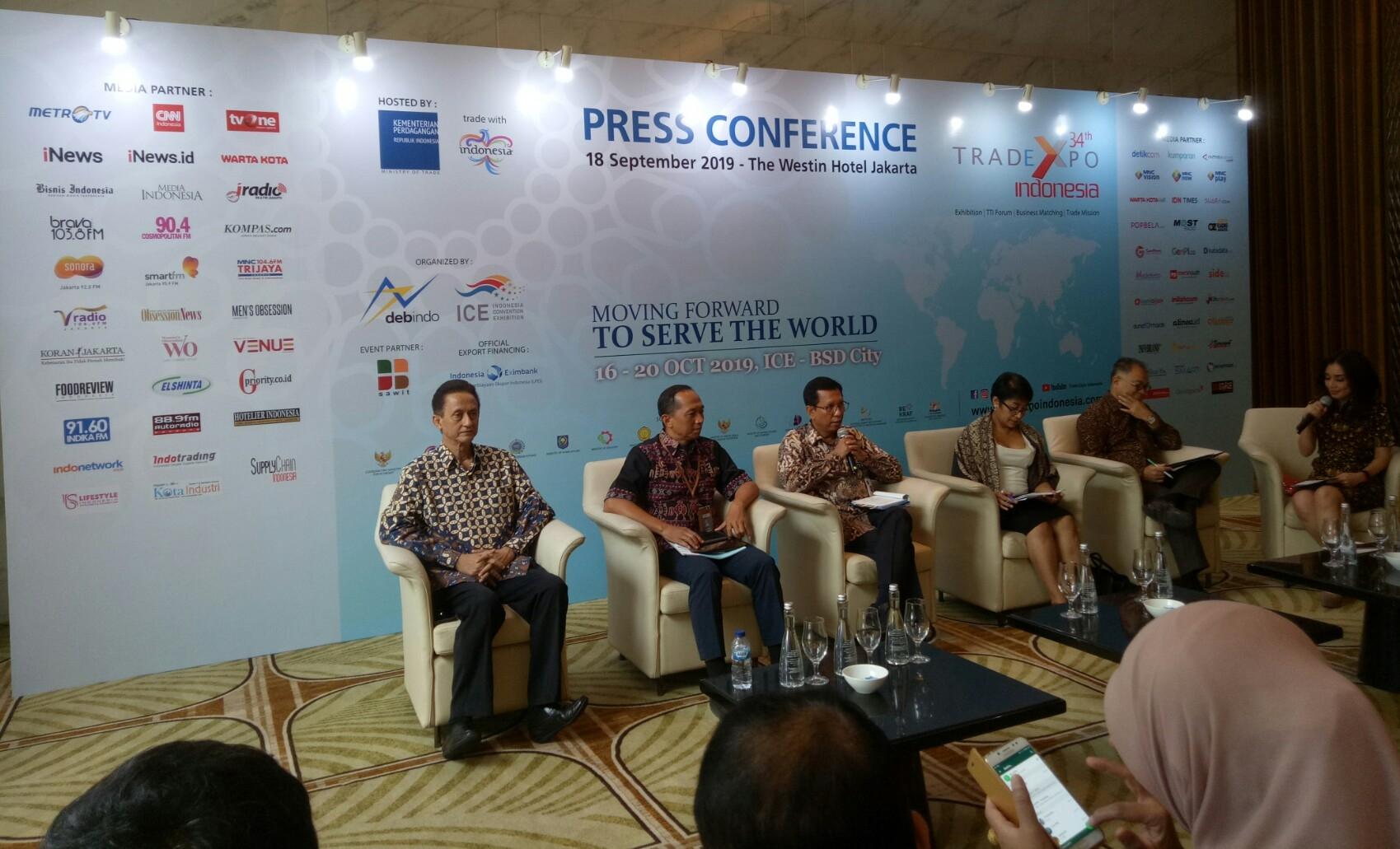 Transaksi Trade Expo Indonesia 2019 Dibidik Naik 15%
