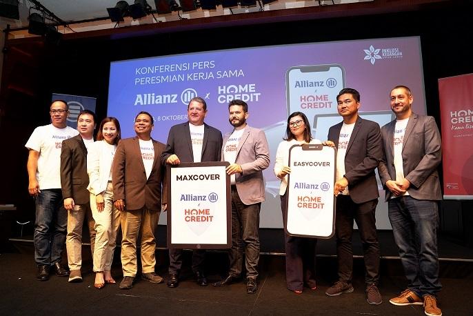 Allianz dan Home Credit Resmikan Kerja Sama Gadget EASYCOVER & MAXCOVER