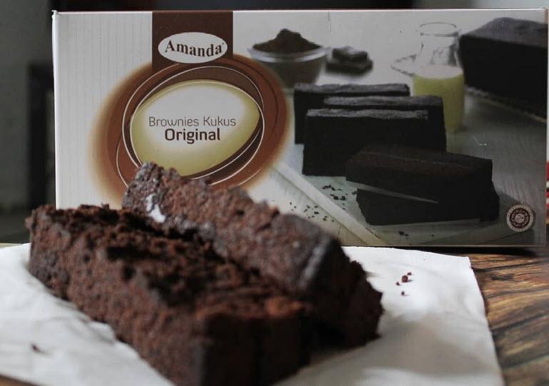 Sosmed Jadi Senjata Promosi Brownies Amanda