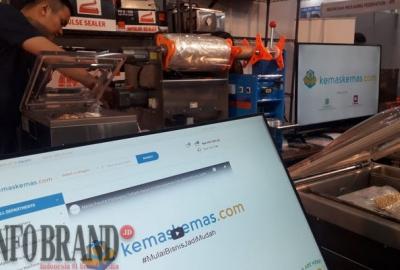 Tawarkan Mesin Packaging via Online, Omset Kemaskemas.com Sentuh Rp90 Juta per Bulan