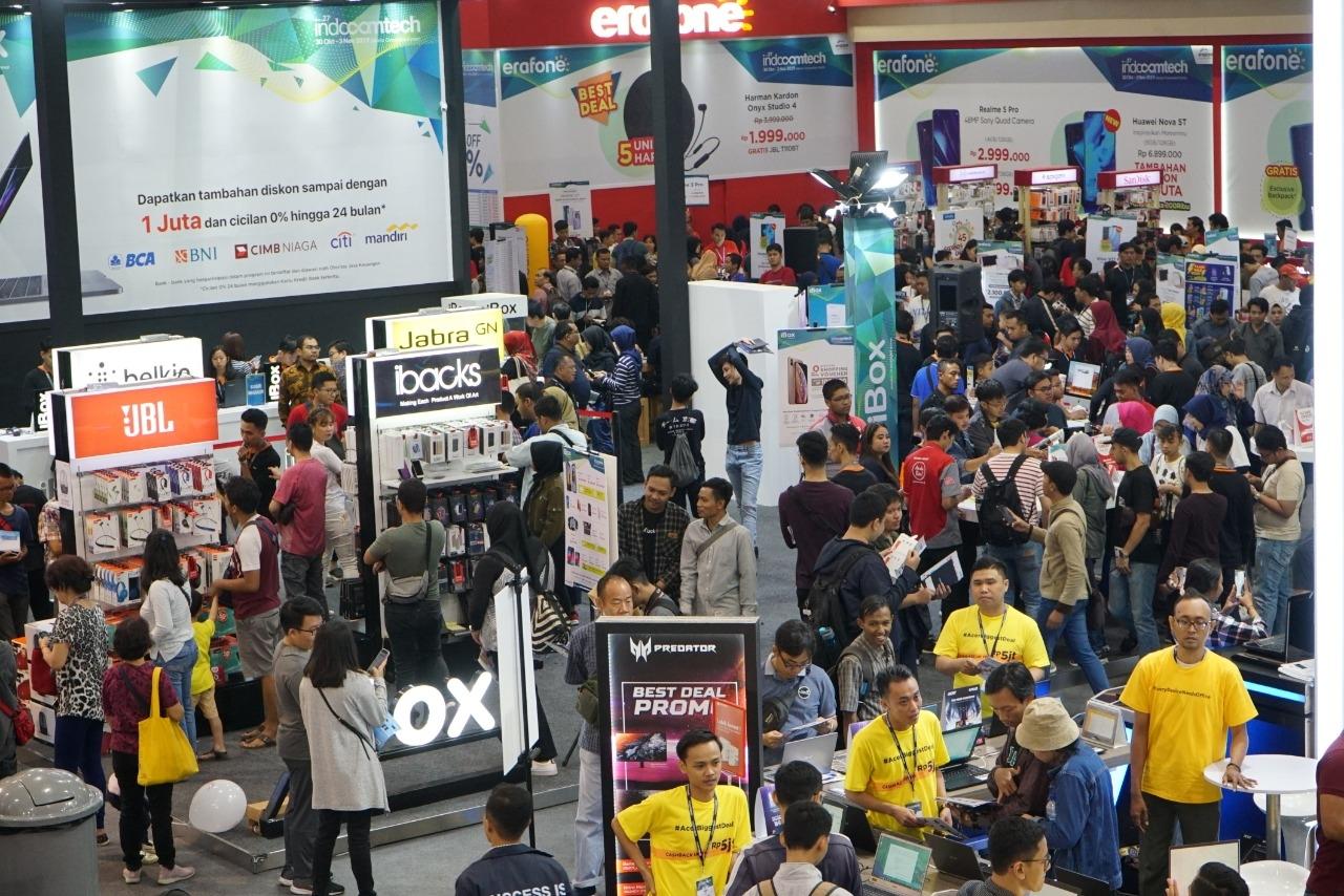 Penyelenggara Klaim Indocomtech 2019 Hasilkan Putaran Duit Rp700 Miliar