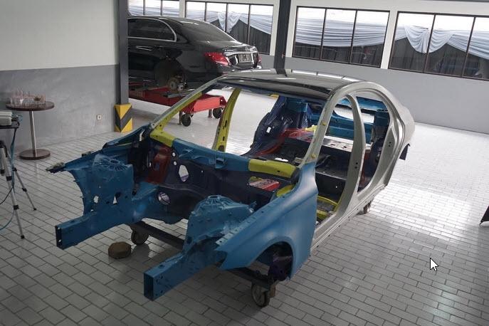 Mercedes-Benz Resmikan Dealer di Bandung dengan Fasilitas Body & Paint
