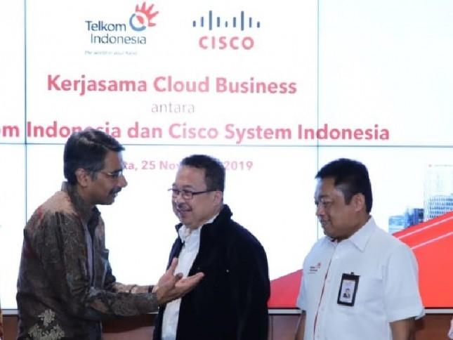 Gandeng Cisco, Telkom Siap Tingkatkan Kapabilitas Digital