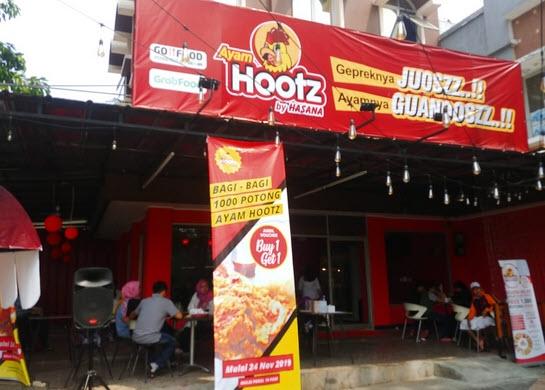 Resmikan Gerai Baru di Harapan Indah, Ayam Hootz Siap Jaring Mitra Bisnis Potensial