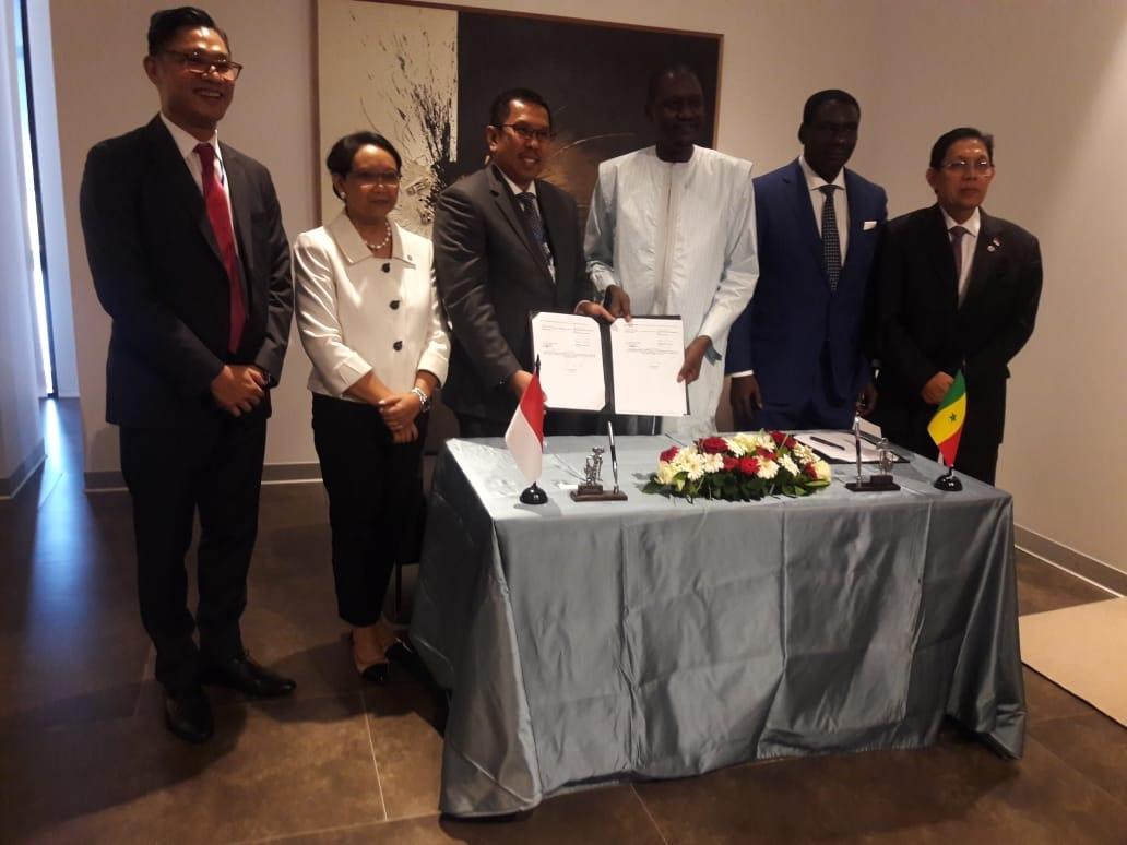 WIKA - AGPBE Teken Kontrak Tahap 1 Goree Tower Project Senegal