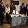 WIKA - AGPBE Teken Kontrak Tahap 1 Goree Tower Project Senegal