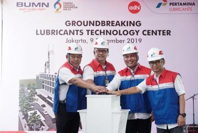 Groundbreaking Lubricants Technology Center: Investasi Teknologi dan Services Masa Depan