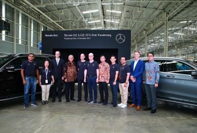 Intip Kecanggihannya, Mercedes-Benz New GLC dan New GLE Kini Dirakit Di Indonesia