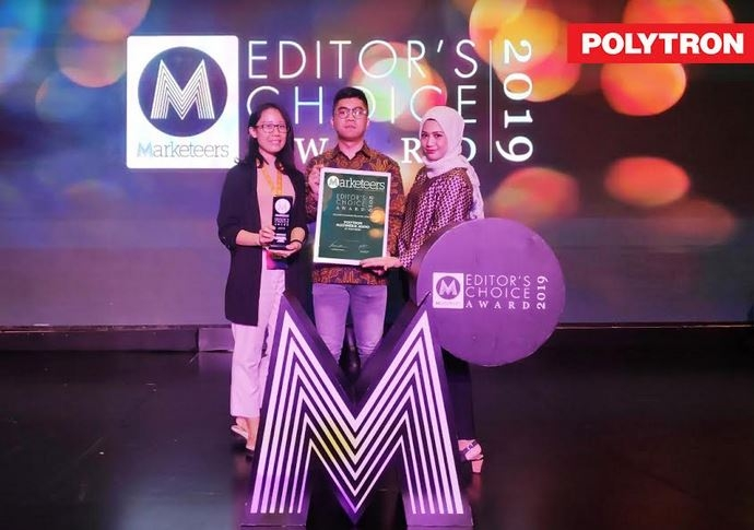 Sukses Pikat Penyuka Audio, Speaker PMA Polytron Raih Innovative Consumer Electronic of The Year 2019