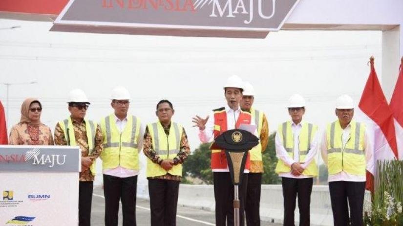 Diresmikan Presiden Jokowi, Jalan Tol Layang Japek Bisa Dipakai Akhir Pekan Ini dan Gratis Sampai Tahun Baru 2020