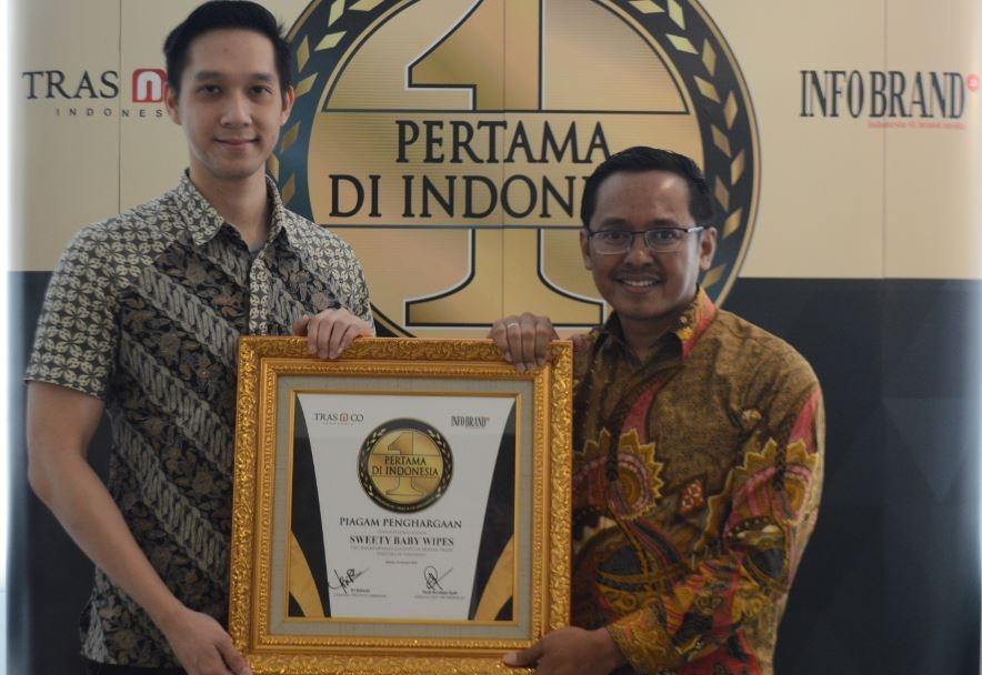 Hadirkan Tisu Basah Minyak Telon, Sweety Diganjar Penghargaan Pertama di Indonesia