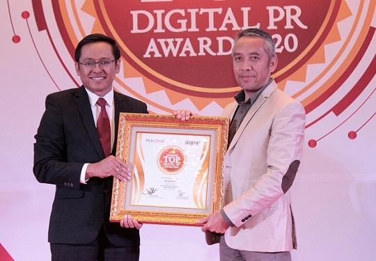 Pegadaian Sabet Penghargaan Top Digital PR Award 2020