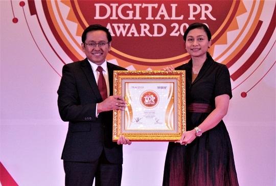 Sukses Bangun Brand Awareness dan Edukasi di Kalangan Milenial, United Tractors Raih Top Digital PR Award 2020