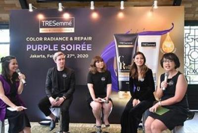 TRESemmé Luncurkan Purple Shampoo Pertama di Indonesia*