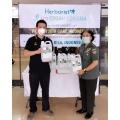 Penyerahan 500 Jerigen Herborist Hand Sanitizer Kepada RSPAD Gatot Subroto Jakarta