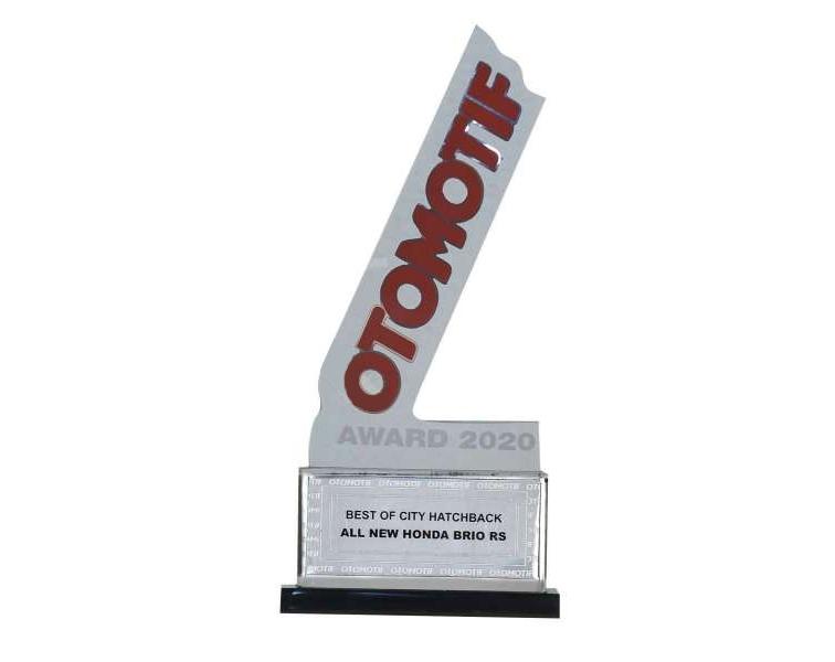 Honda Brio dan Civic Hatchback Rs Raih Penghargaan Mobil Terbaik di Ajang Otomotif Award 2020