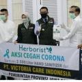 Penyaluran Hand Sanitizer Herborist Untuk Cegah Covid-19 di Jawa Barat