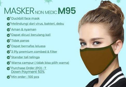 Lawan Corona, MAKKO Group Luncurkan Masker yang Bisa Dicuci
