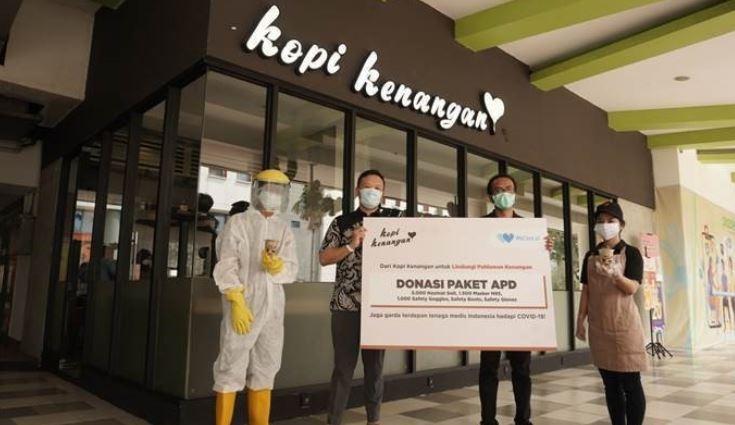 Ketersediaan APD Menipis, Kopi Kenangan Ajak Pelanggan Salurkan Bantuan untuk Tenaga Medis