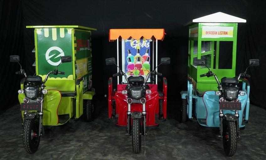 Kenalan dengan Gelis, Motor Roda Tiga Bertenaga Listrik Pertama di Indonesia