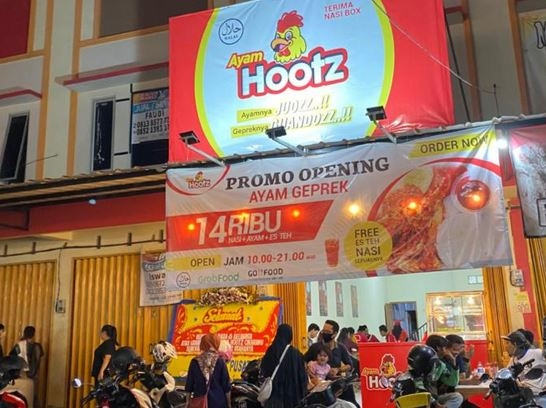 Sambut New Normal, Ayam Hootz Resmikan Gerai Baru di Cikarang