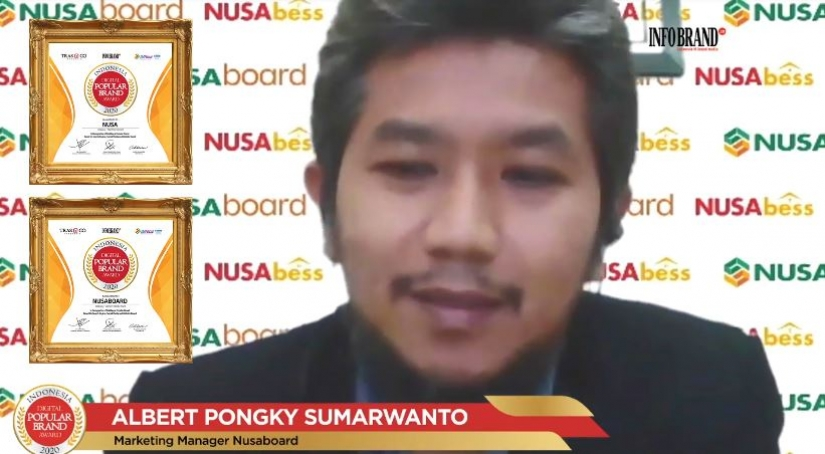 Nusaboard Sabet Penghargaan Indonesia Digital Popular Brand Award 2020