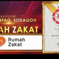 Lagi, Rumah Zakat Raih Penghargaan Indonesia Original Brand Award