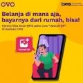Bayar QRIS lewat Aplikasi OVO, Kini Tak Harus Keluar Rumah