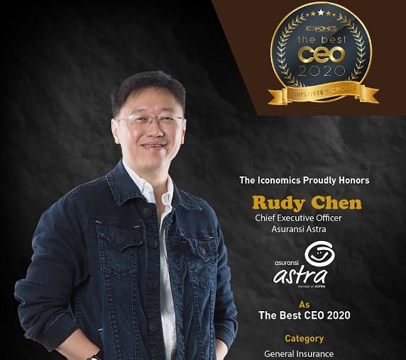 Asuransi Astra Raih Best CEO - Employee's Choice Award 2020