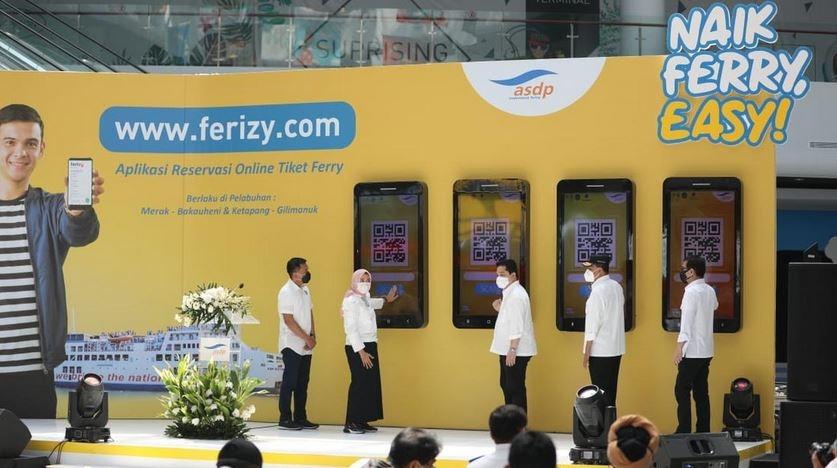 Pesan Tiket Kapal Ferry Kini Makin Mudah dengan Ferizy
