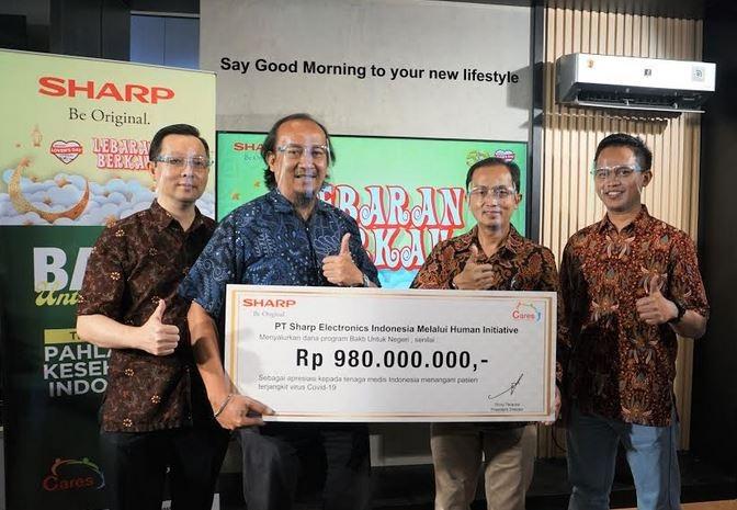 Sharp Donasikan Rp980 Juta Untuk Tenaga Medis Pejuang COVID-19