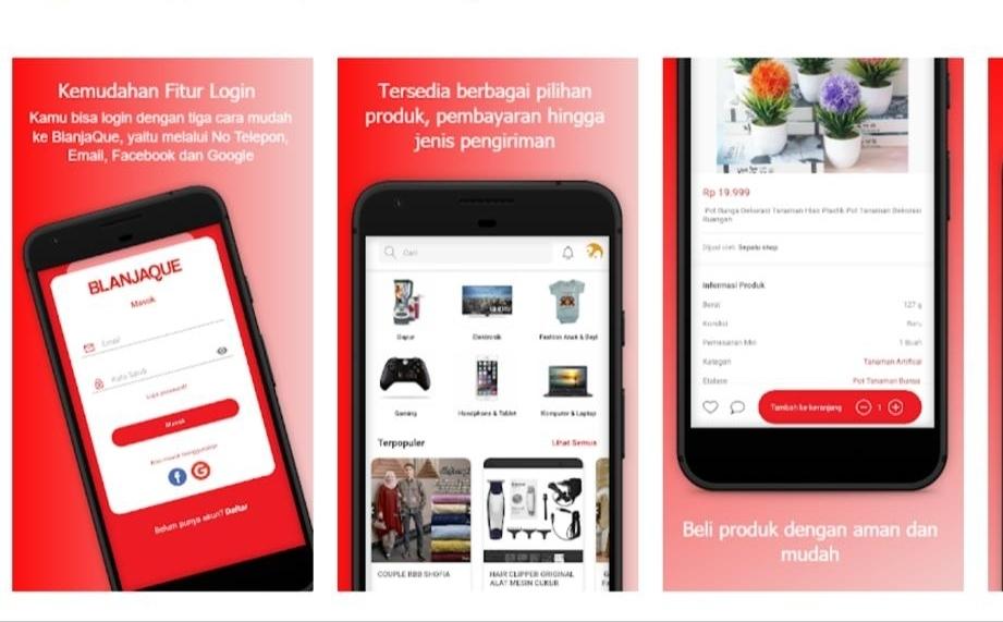 BlanjaQue, Marketplace Pertama Dengan Layanan Multiple Addresses