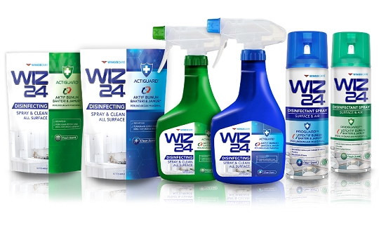 Lengkapi Lini Produk Anti Bakteri, Wings Care Luncurkan WIZ 24
