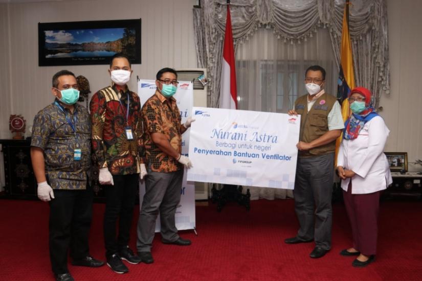 Astra Financial Bagikan Ventilator Untuk Bantu Pasien COVID-19